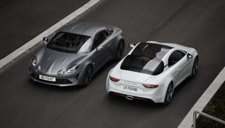 Alpine A110S revealed; more power, tighter suspension