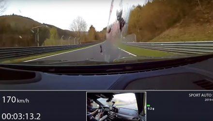 2019 BMW M5 Competition Nurburgring lap - 1