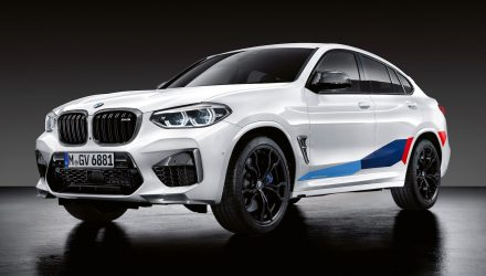 M Performance options revealed for BMW X3 M & X4 M