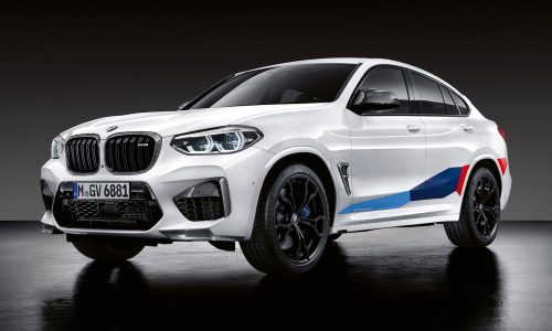 M Performance options revealed for BMW X3 M & X4 M