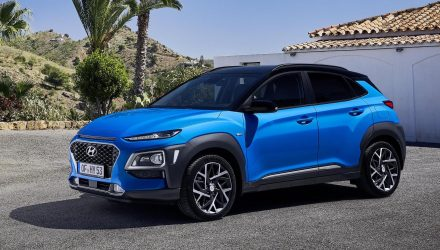 First Hyundai Kona Hybrid revealed, gets IONIQ powertrain
