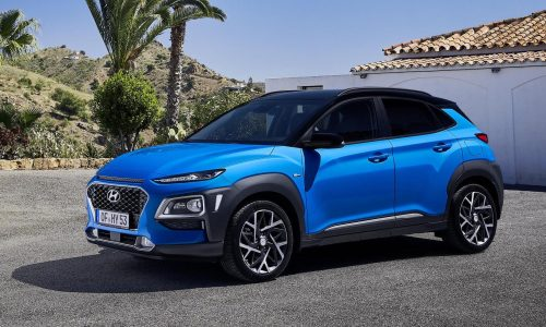 First Hyundai Kona Hybrid revealed, gets IONIQ powertrain