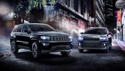 2019 Jeep Cherokee, Grand Cherokee Night Eagle announced