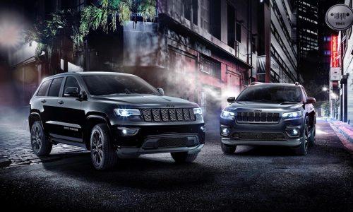 2019 Jeep Cherokee, Grand Cherokee Night Eagle announced