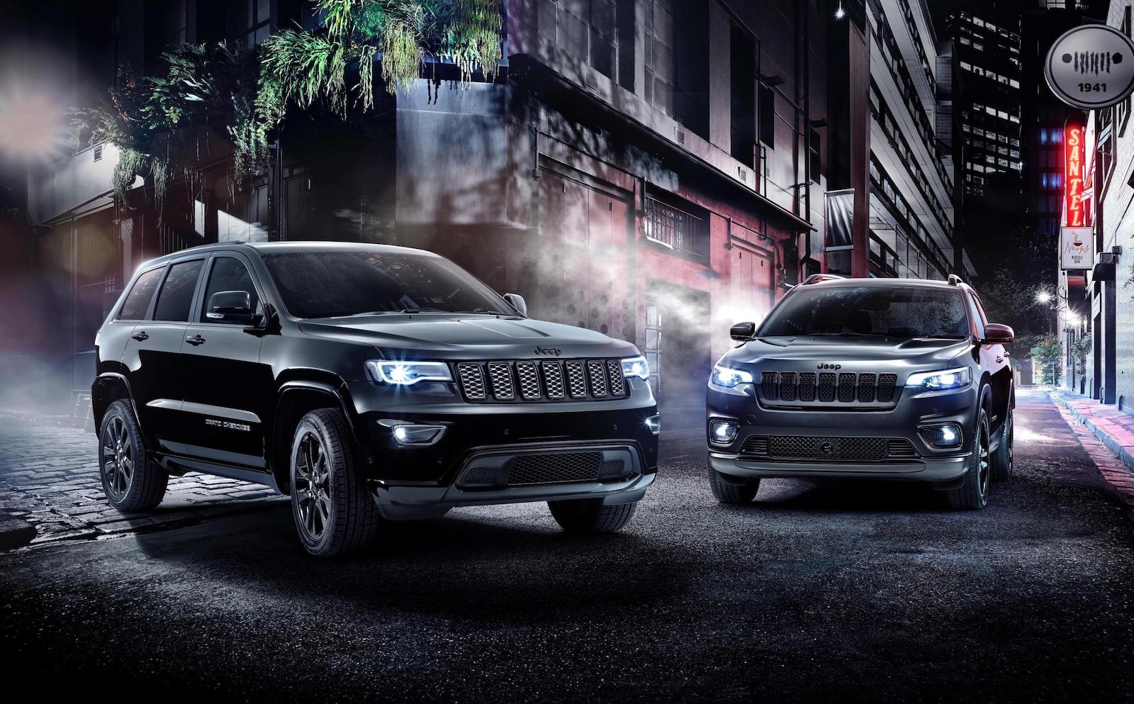 2019 Jeep Cherokee Grand Cherokee Night Eagle Announced