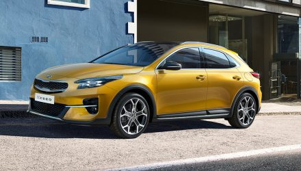 Kia XCeed revealed as stylish new small SUV for Europe