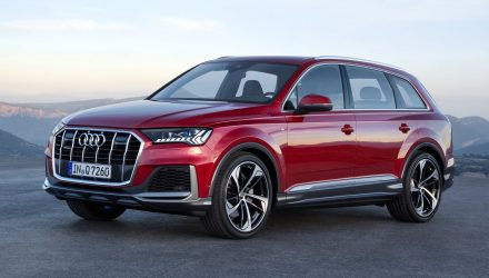 2020 Audi Q7 facelift revealed with sharpened design and technology