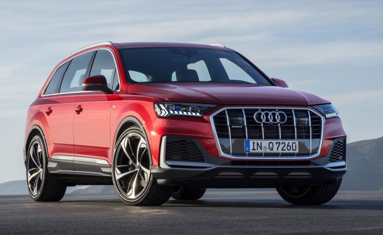 2020 Audi Q7 Facelift Revealed With Sharpened Design And