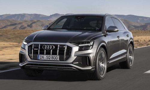 2020 Audi SQ8 TDI debuts most powerful diesel in class
