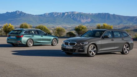 2020 BMW 3 Series Touring (G21) wagon revealed
