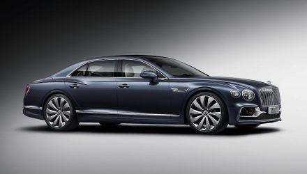 2020 Bentley Flying Spur revealed, debuts 4-wheel steering
