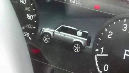 Is this the design of the 2020 Land Rover Defender?