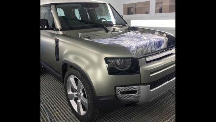 2020 Land Rover Defender design revealed via sneaky photo?