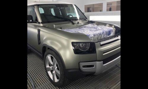 2020 Land Rover Defender design revealed via sneaky photo?