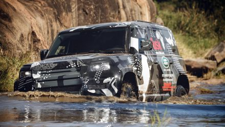 2020 Land Rover Defender completes tough tests in Kenya
