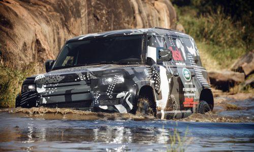 2020 Land Rover Defender completes tough tests in Kenya