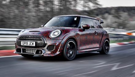 2020 MINI John Cooper Works GP previewed, over 220kW confirmed