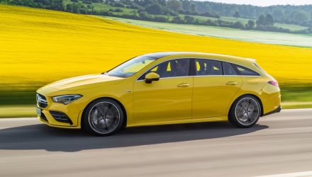 New Mercedes-AMG CLA 35 Shooting Brake revealed