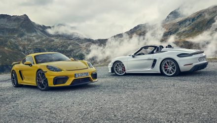 2020 Porsche 718 Spyder & Cayman GT4 revealed