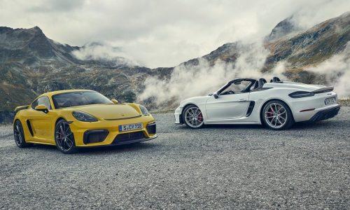 2020 Porsche 718 Spyder & Cayman GT4 revealed