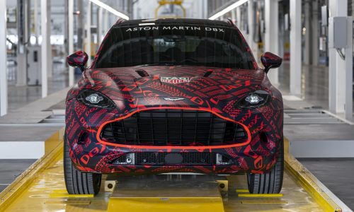 Aston Martin production commences at St Athan facility