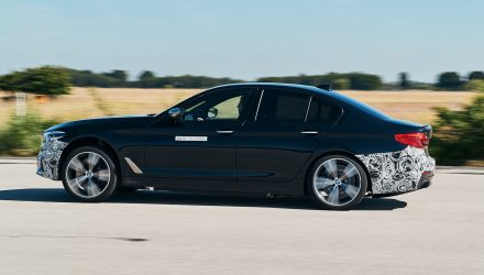 BMW testing next-gen EV tech with 720hp 5 Series
