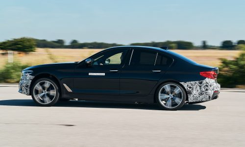 BMW testing next-gen EV tech with 720hp 5 Series
