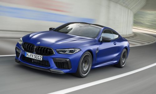 BMW M8 & M8 Competition unveiled, 460kW flagship