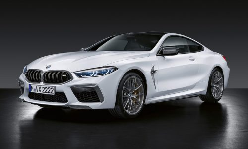 BMW M Performance parts revealed for new M8