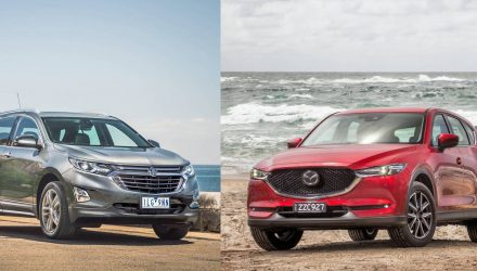 Holden and Mazda