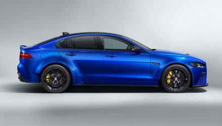 Jaguar XE SV Project 8 'Touring' specification announced
