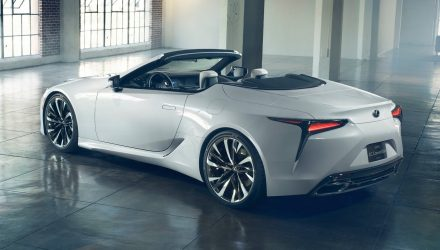 Lexus LC convertible to debut at Goodwood Festival of Speed – report