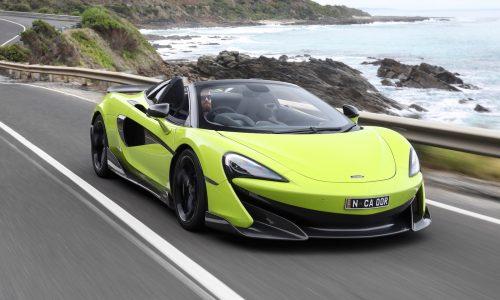 McLaren 600LT Spider makes Australian debut on Great Ocean Road
