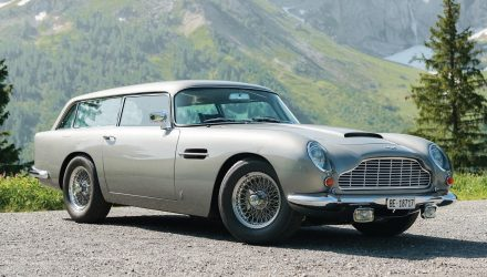 For Sale: Rare 1965 Aston Martin DB5 Shooting Brake