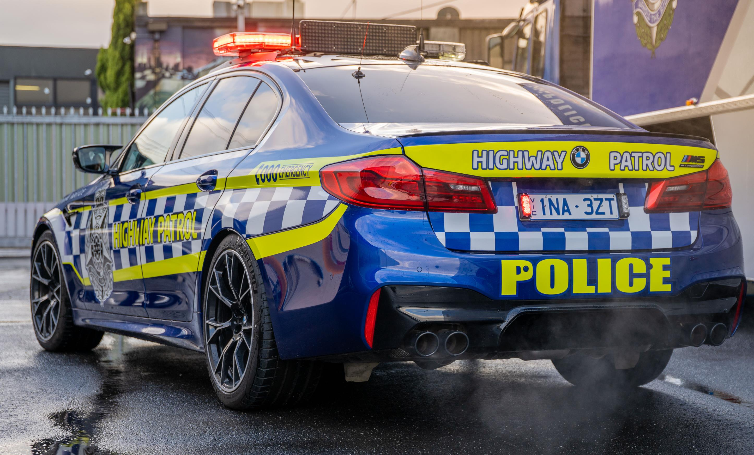 Bmw M5 Competition Highway Patrol Car Joins Victoria