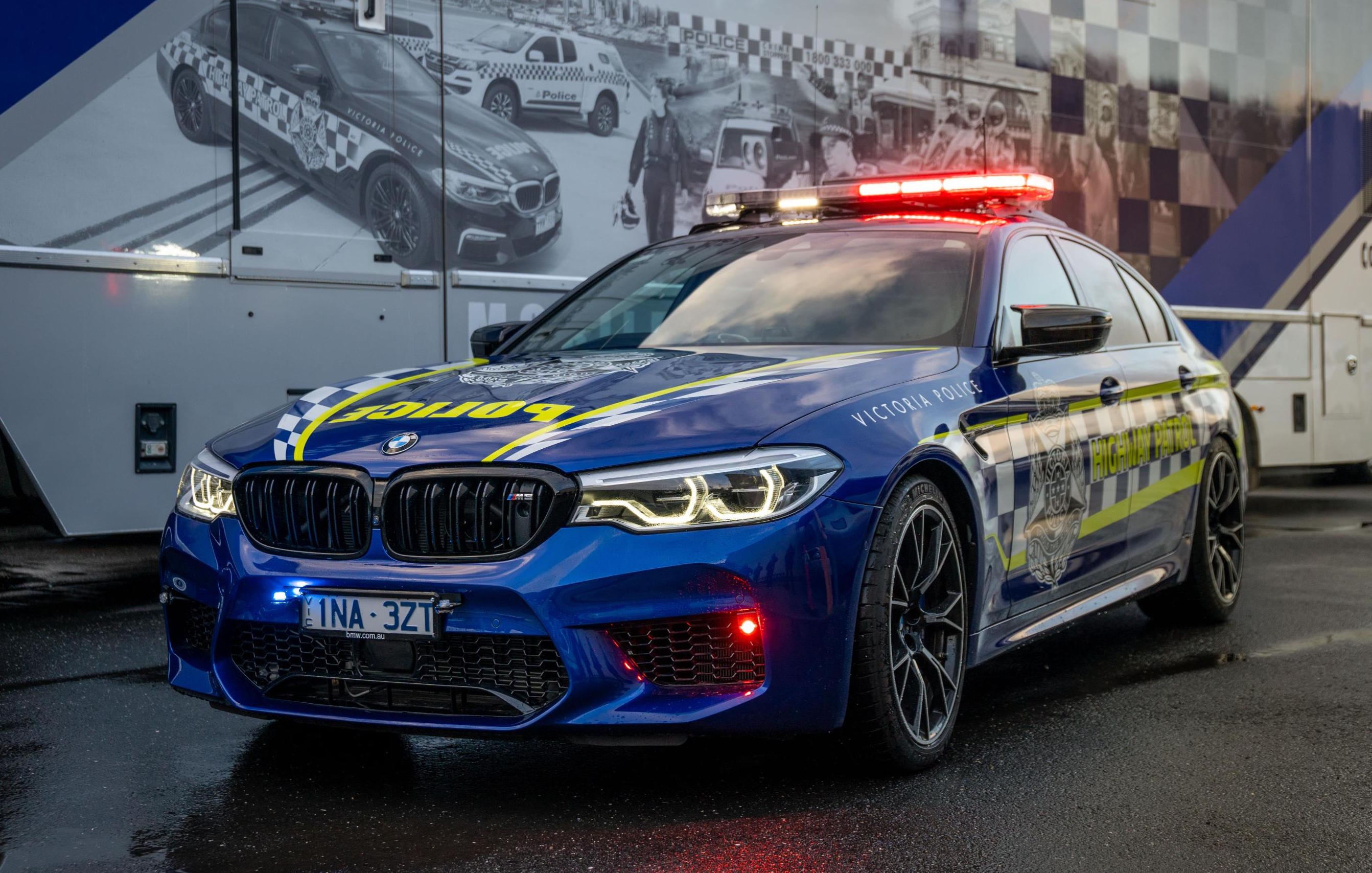 BMW M5 Competition highway patrol car joins Victoria Police