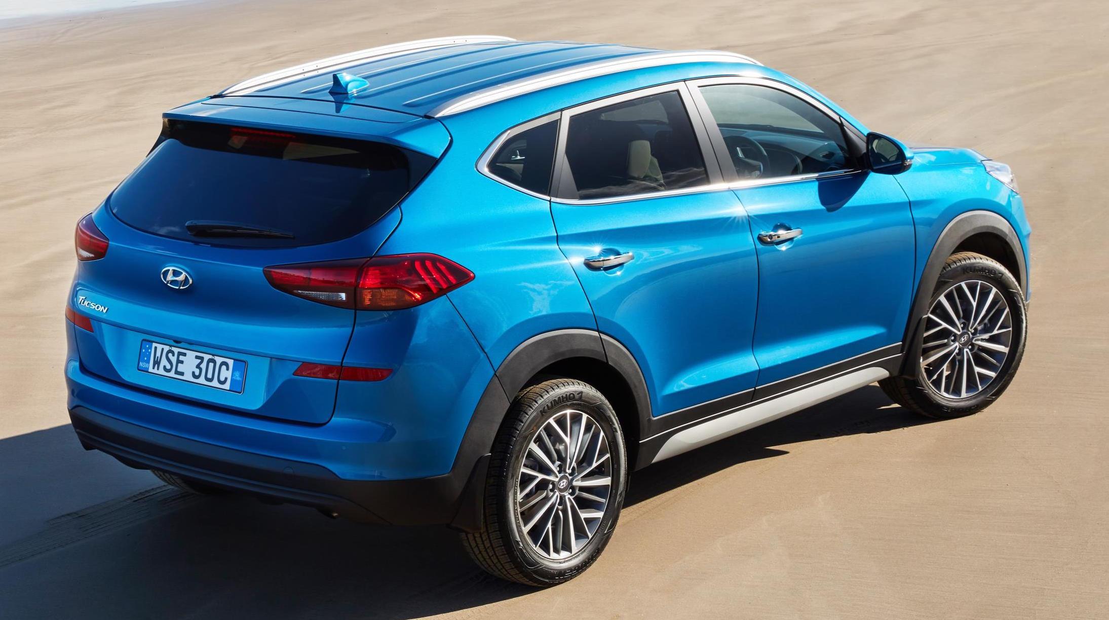 2021 Hyundai Tucson spied; new 2.5 turbo & 2.0 GDi HEV ...