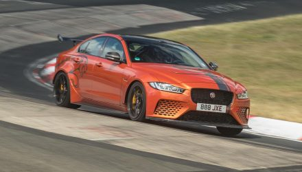 Jaguar XE SV Project 8 resets Nurburgring sedan lap record (video)