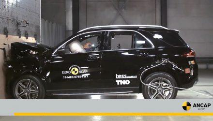 2019 Mercedes-Benz GLE, G-Class awarded 5-star ANCAP, Tesla Model 3 under assessment