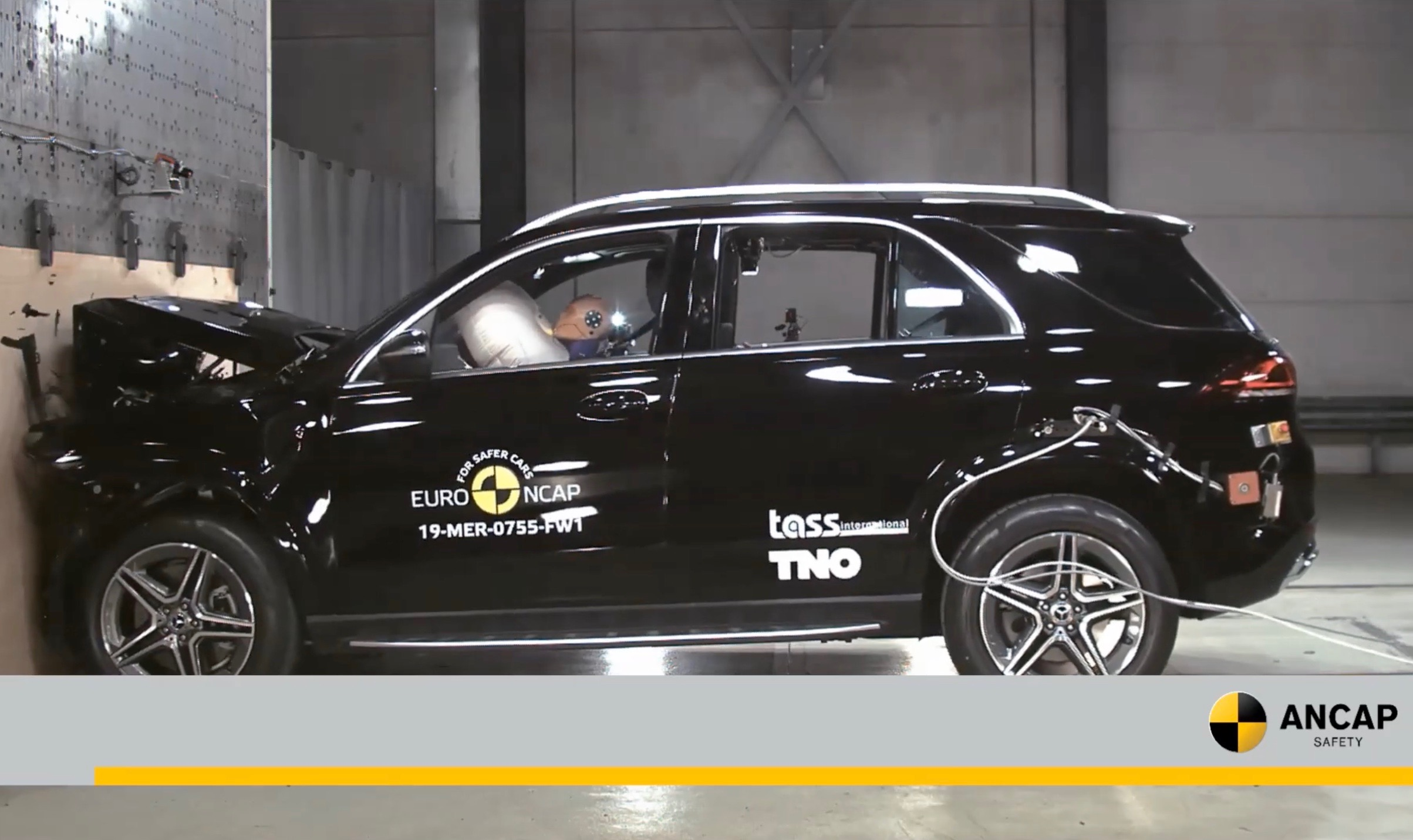 Model 3, Scala, B-Class get 5-star ratings — Euro NCAP