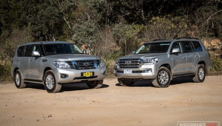 2019 Nissan Patrol vs Toyota LandCruiser: Large SUV comparison (video)