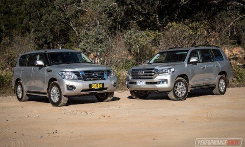 2019 Nissan Patrol vs Toyota LandCruiser: Large SUV comparison (video)