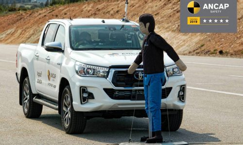 Updated Toyota HiLux passes tougher 5-star ANCAP safety