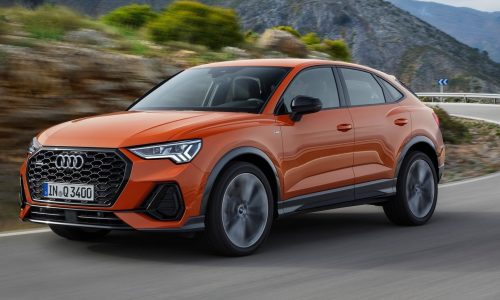 Audi Q3 Sportback revealed as new coupe SUV