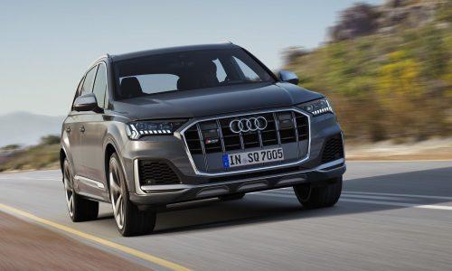 2020 Audi SQ7 TDI revealed, gets 900Nm V8