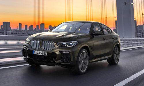 2020 BMW X6 revealed, topped by M50i