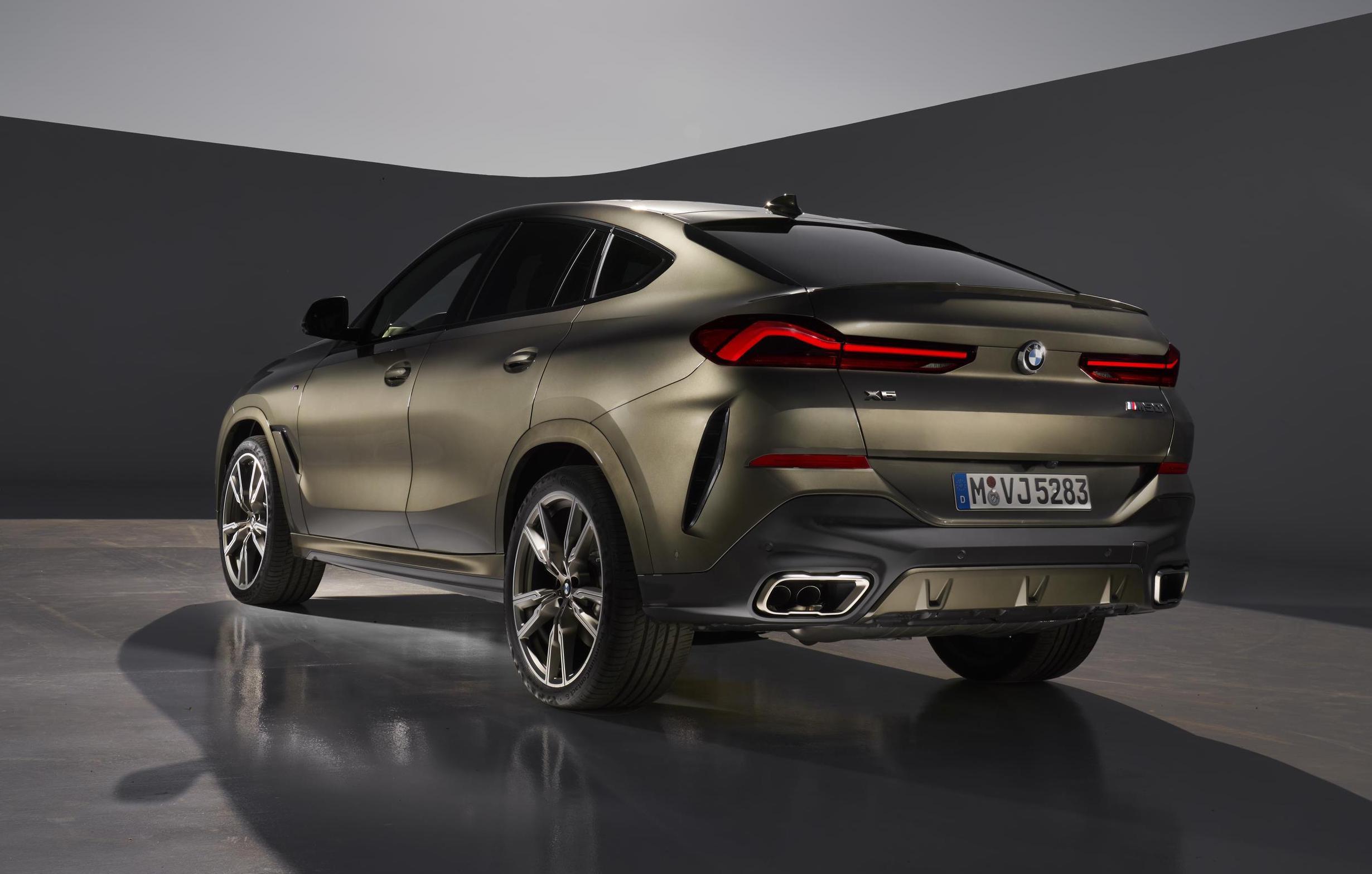 2020 Bmw X6 Revealed Topped By M50i Performancedrive