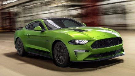 MY2020 Ford Mustang debuts with Black Shadow Pack