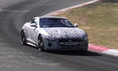 2020 Jaguar F-Type spotted, using BMW 4.4TT V8? (video)