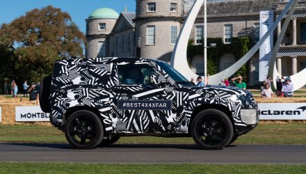 2020 Land Rover Defender '90' opens Goodwood Festival